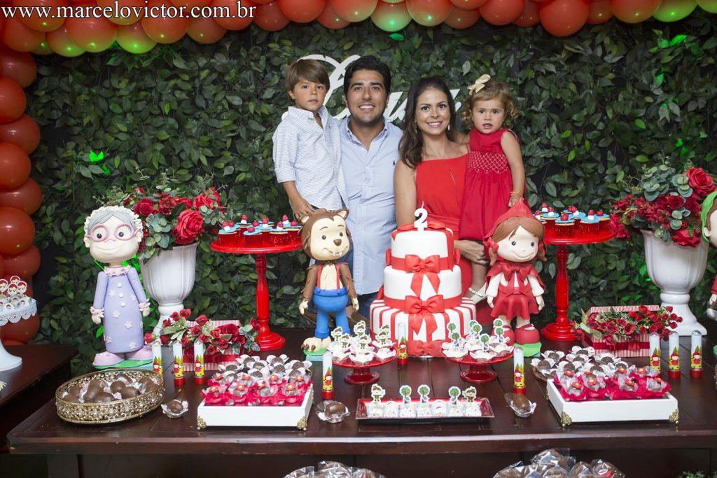 Buffet Happy Day - Aniversário de 2 anos da Luísa
