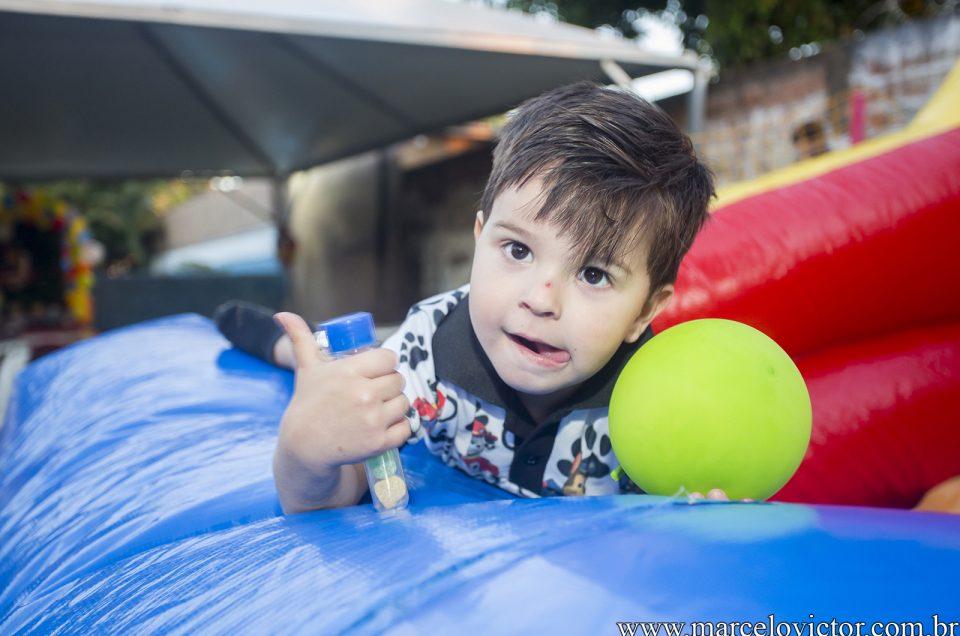 João Gabriel - 3 anos